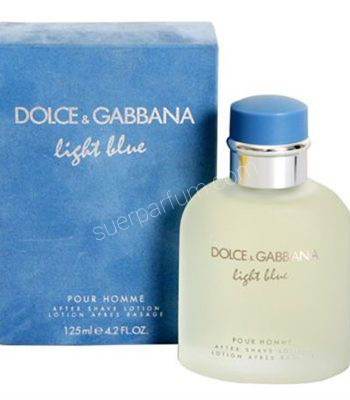 DOLCE GABBANA LIGHT BLUE MEN