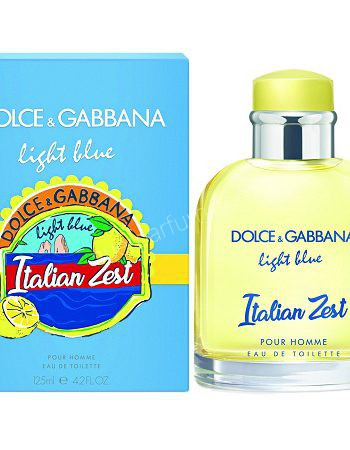 Dolce Gabbbana Light Blue Zest men